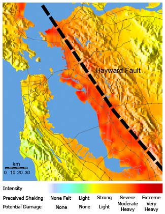 Are You Prepared For The Upcoming Big Earthquake Acorn Wellness - Hayward fault line map