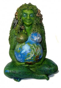 Earth Goddess statue