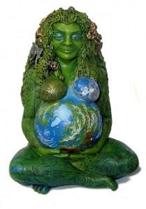 Earth Goddess statue