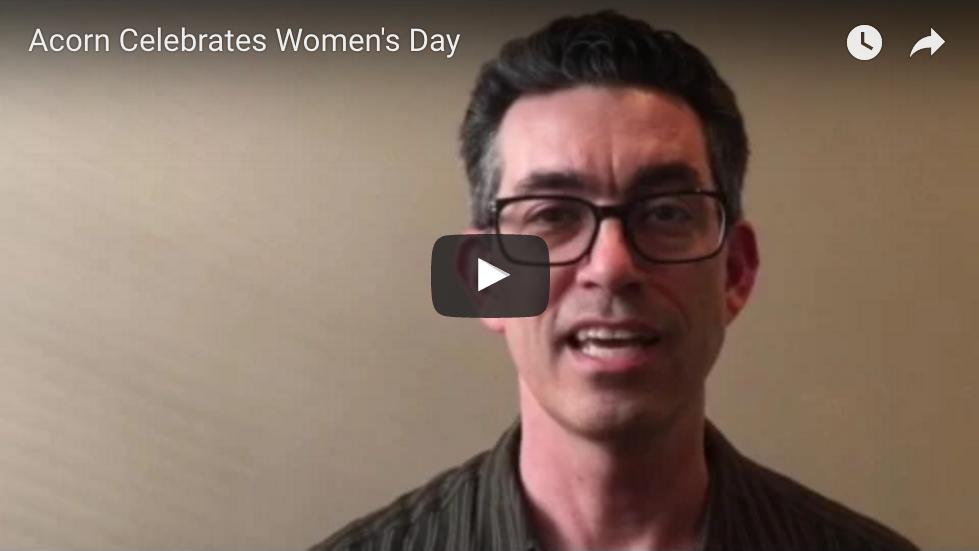 Acorn Celebrates International Women's Day