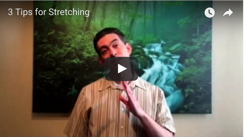 3 Tips for Stretching